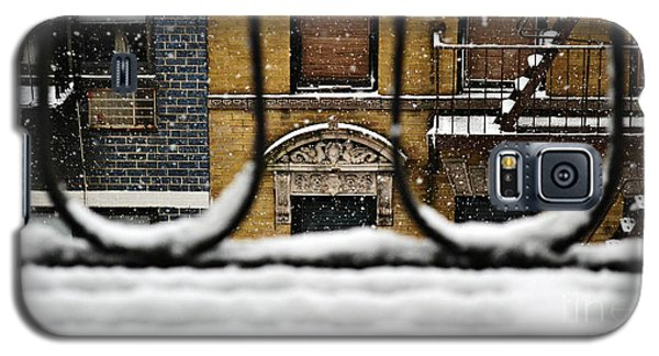 From My Fire Escape - Arches In The Snow Galaxy S5 Case by Miriam Danar
