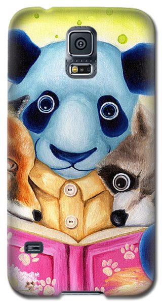 From Okin The Panda Illustration 10 Galaxy S5 Case