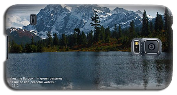 Galaxy S5 Case featuring the photograph From The Hills by Rod Wiens