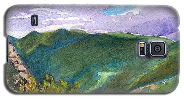 Galaxy S5 Case featuring the painting From Tuckerman's Ravine by Susan Herbst