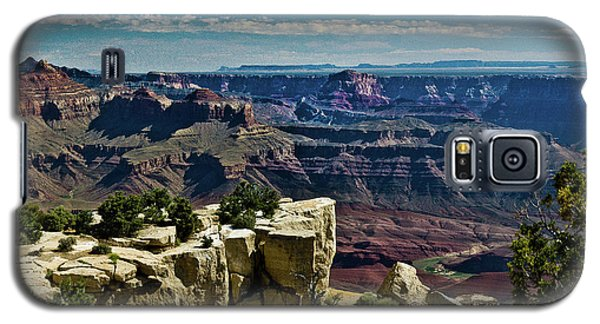 Galaxy S5 Case featuring the photograph From Yaki Point 2 Grand Canyon by Bob and Nadine Johnston
