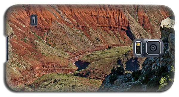 Galaxy S5 Case featuring the photograph From Yaki Point 5 Grand Canyon by Bob and Nadine Johnston