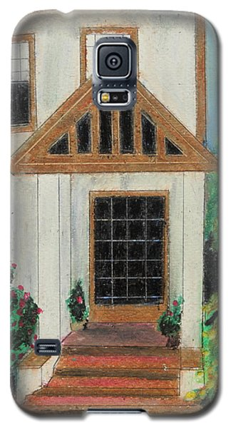 Galaxy S5 Case featuring the painting Front Door 1 by Jeanne Fischer