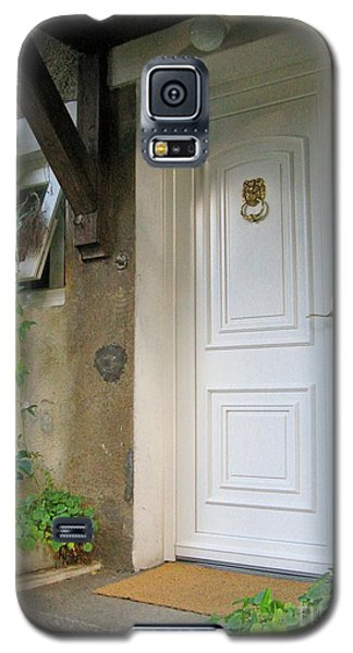 Galaxy S5 Case featuring the photograph Front Door by Arlene Carmel