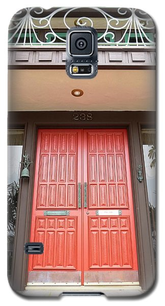Galaxy S5 Case featuring the photograph Front Door by Julia Ivanovna Willhite
