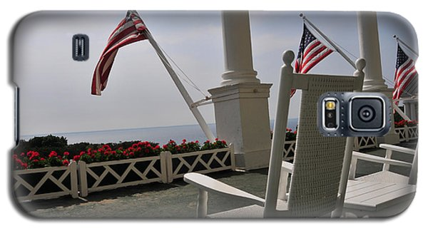 Front Porch II Grand Hotel On Mackinac Island Galaxy S5 Case