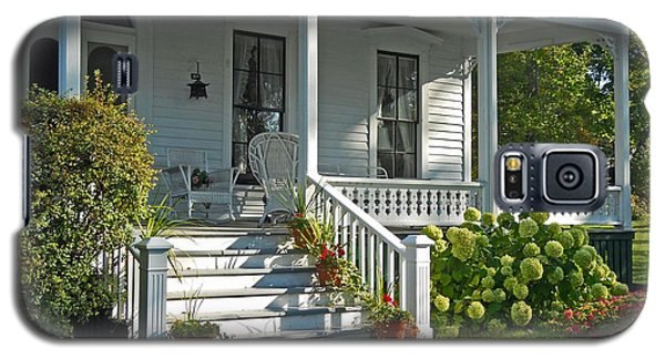 Front Porch In Summer Galaxy S5 Case by Desiree Paquette
