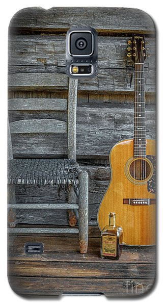 Galaxy S5 Case featuring the photograph Front Porch Pick'n by Marion Johnson