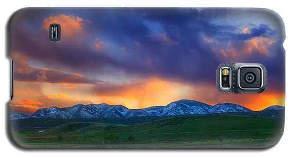 Front Range Light Show Galaxy S5 Case