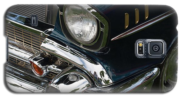 Galaxy S5 Case featuring the photograph Front Side Of A Classic Car by Gunter Nezhoda