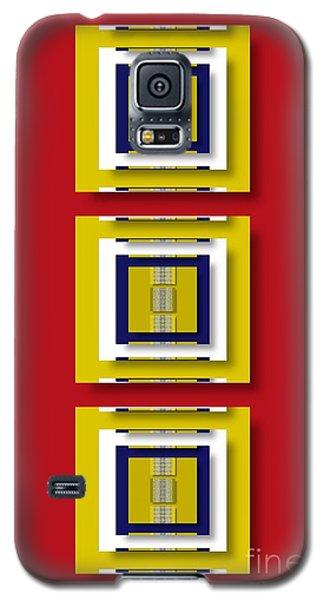 Galaxy S5 Case featuring the digital art Frontdoor by Darla Wood