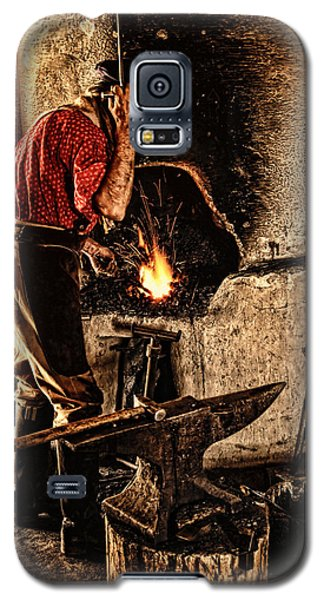 Frontier Blacksmith At The Forge Galaxy S5 Case