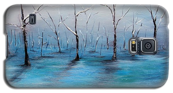 Galaxy S5 Case featuring the painting Frost Like Ashes by Meaghan Troup
