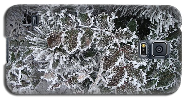 Galaxy S5 Case featuring the photograph Frost by Michael Dohnalek
