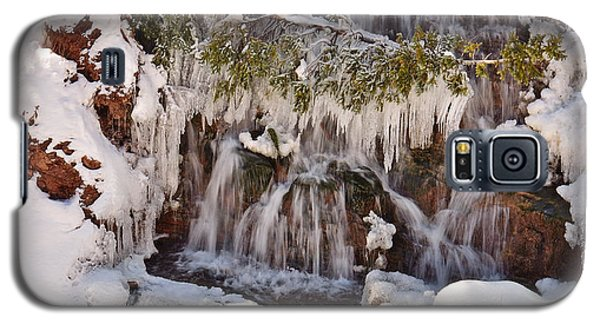 Frosty Cascades Galaxy S5 Case