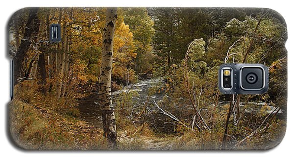 Frosty Fall  Morning Galaxy S5 Case by Duncan Selby
