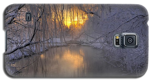 Galaxy S5 Case featuring the photograph Frosty Morn 2 by Dan Myers
