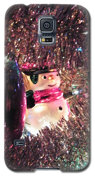Frosty Snowman Galaxy S5 Case