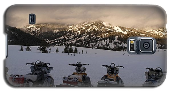 Frosty Snowmobiles Galaxy S5 Case