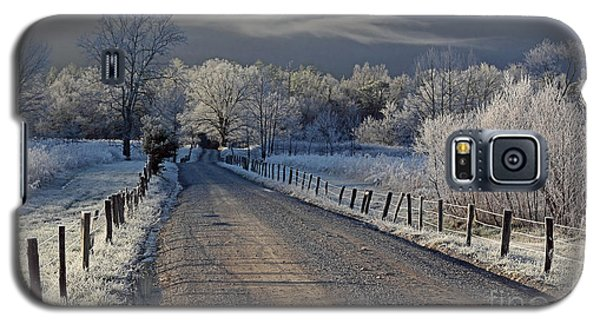 Frosty Sparks Lane Galaxy S5 Case