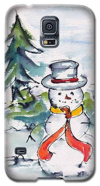 Frosty The Snowman Galaxy S5 Case
