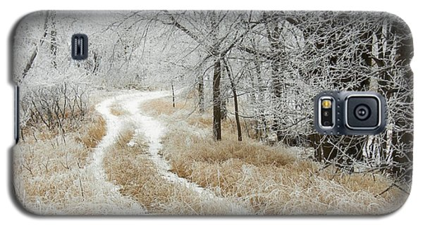Galaxy S5 Case featuring the photograph Frosty Trail 2 by Penny Meyers