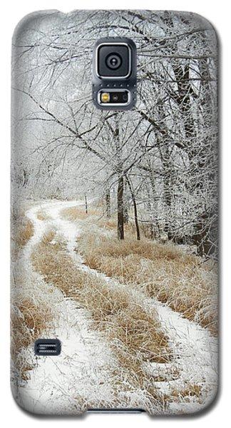 Frosty Trail Galaxy S5 Case by Penny Meyers