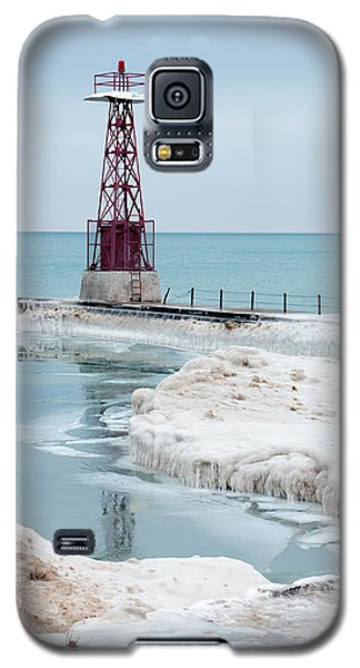 Frozen Beach Galaxy S5 Case