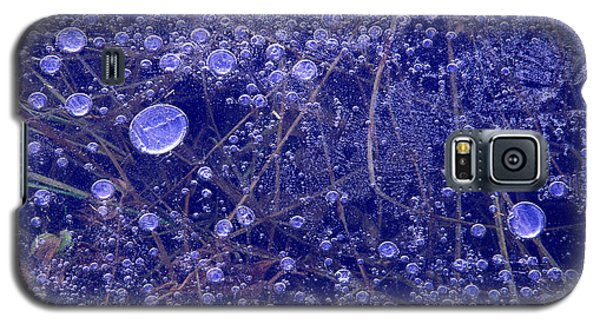 Frozen Bubbles In The Merced River Yellowstone Natioinal Park Galaxy S5 Case
