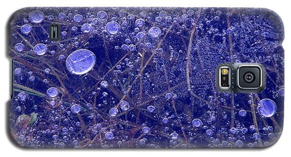 Frozen Bubbles In The Merced River Yosemite Natioinal Park Galaxy S5 Case