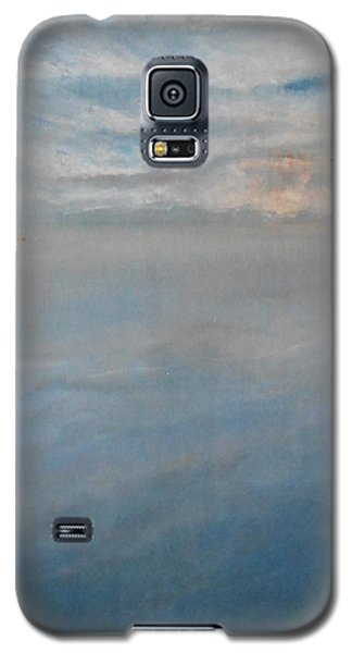 Galaxy S5 Case featuring the painting Frozen by Jane  See