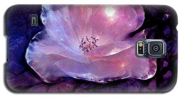 Frozen Rose Galaxy S5 Case by Lilia D