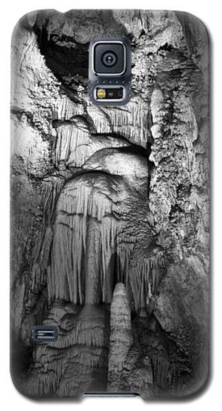 Frozen Waterfall In Carlsbad Caverns Galaxy S5 Case by Melany Sarafis
