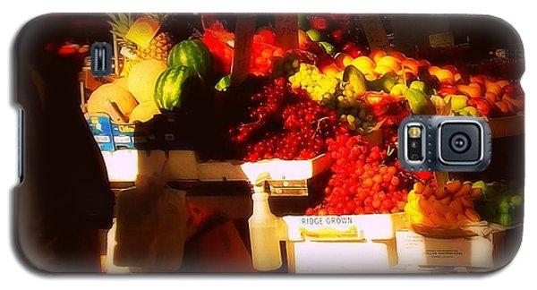 Galaxy S5 Case featuring the photograph Fruit A La Caravaggio by Miriam Danar