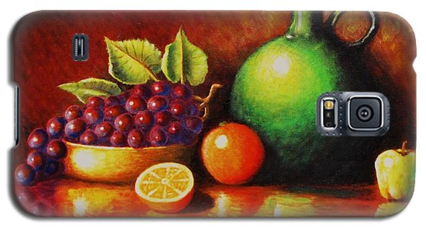 Fruit And Jug Galaxy S5 Case by Gene Gregory