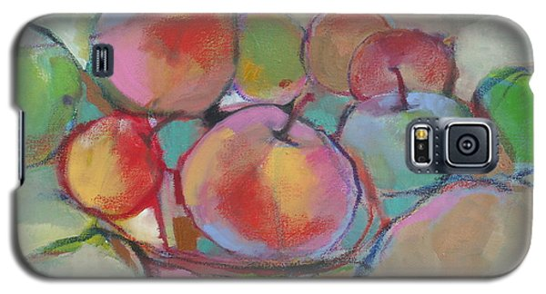 Galaxy S5 Case featuring the painting Fruit Bowl #5 by Michelle Abrams