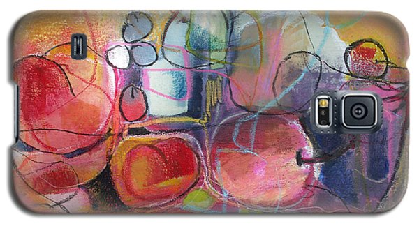 Galaxy S5 Case featuring the painting Fruit Bowl No.1 by Michelle Abrams