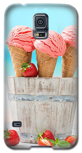 Fruit Ice Cream Galaxy S5 Case by Amanda Elwell