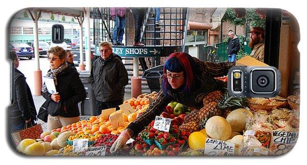 Fruit Market Vendor Galaxy S5 Case