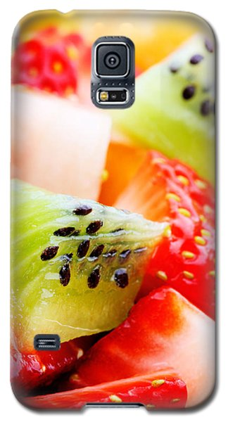 Fruits Galaxy S5 Case - Fruit Salad Macro by Johan Swanepoel