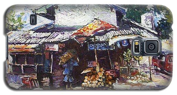 Fruit  Shop In Srilanka Galaxy S5 Case