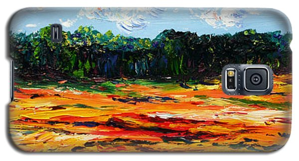 Galaxy S5 Case featuring the painting Fruition by Meaghan Troup