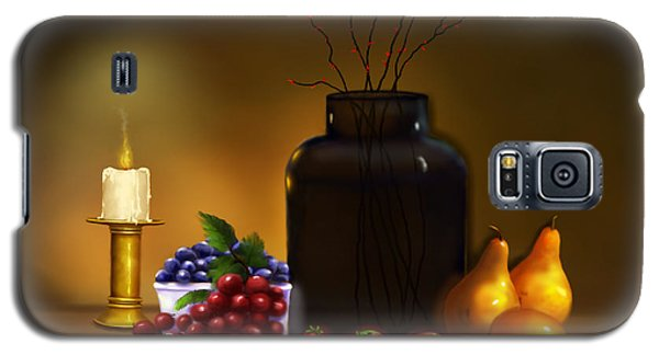 Galaxy S5 Case featuring the painting Fruits Of Life by Sena Wilson