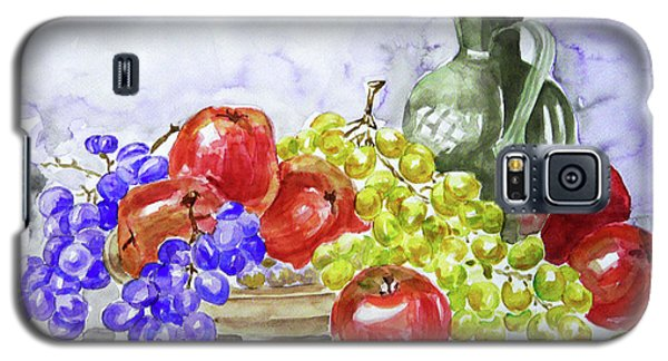 Galaxy S5 Case featuring the painting Fruit After Him by Jasna Dragun