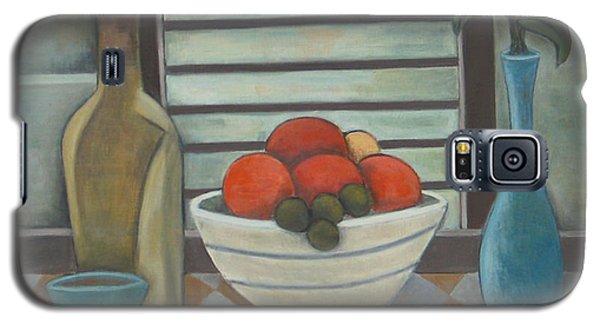 Fruta Flores Y Vino Galaxy S5 Case