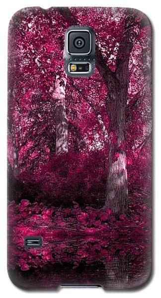Fuchsia Forest Galaxy S5 Case by Sheena Pike