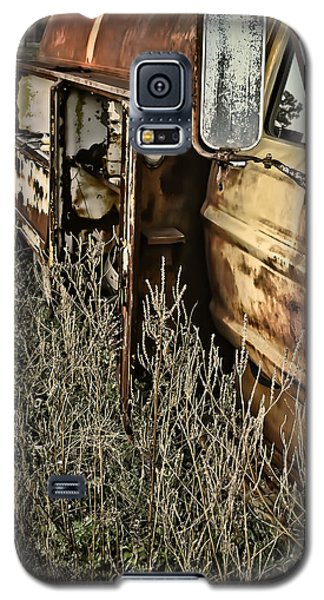 Galaxy S5 Case featuring the photograph Fuel Oil Truck by Greg Jackson