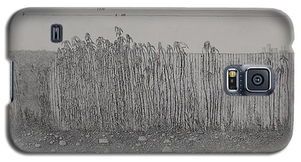 Galaxy S5 Case featuring the painting Fugue by A  Robert Malcom
