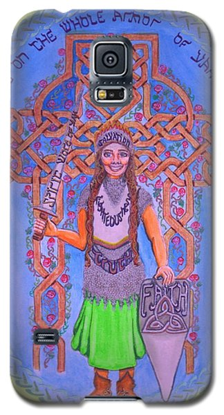 Full Armor Of Yhwh Woman Galaxy S5 Case