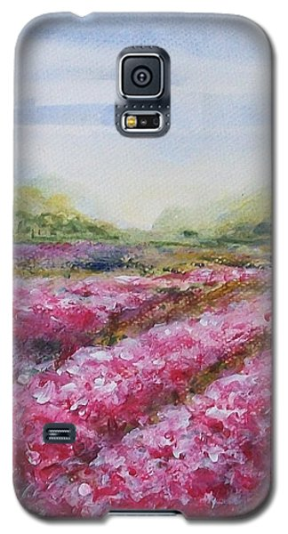 Galaxy S5 Case featuring the painting Full Bloom by Jane  See